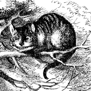 « Cheshire Cat Tenniel ». Sous licence Domaine public via Wikimedia Commons - http://commons.wikimedia.org/wiki/File:Cheshire_Cat_Tenniel.png#/media/File:Cheshire_Cat_Tenniel.png